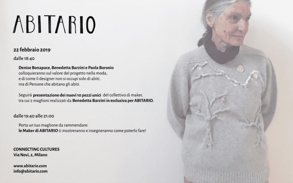 """E concludo proprio con le parole di Paola Baronio che di  Abitario  scrive   """"maglie come oggetti da indossare c4aa44a46c3"""